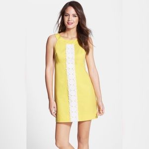 Lilly Pulitzer Yellow Jacqueline Dress - 0